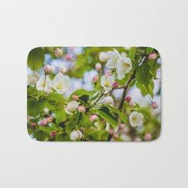 Crabapple Blossoms 5 Bath Mat