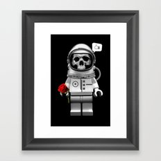 LIKE YOU TO DEATH Framed Art Print