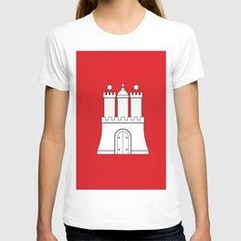 Flag of hamburg T-shirt
