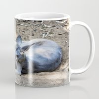 kangaroo Mugs featuring Kangaroo by Veronika