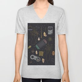 Gamer Witch Starter Kit Unisex V-Neck