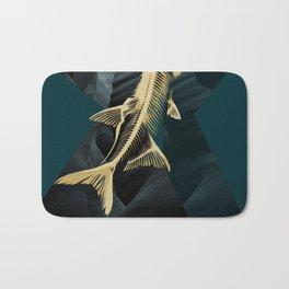 Catch the golden fish Bath Mat