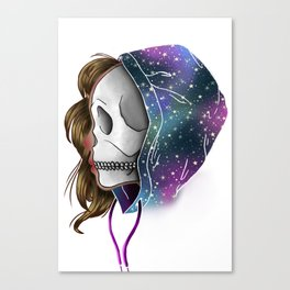 Chilled to the Bone Canvas Print