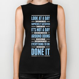 Lab No. 4 Look At A Day When Margaret Thatcher Inspirational Quote Biker Tank