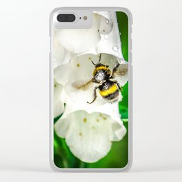 The Bumble Bee Clear iPhone Case