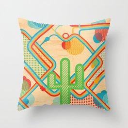 Cactus Dreams Throw Pillow