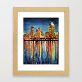 San Diego (1 of 3) Framed Art Print