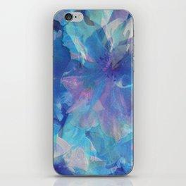 Sakura Blue iPhone Skin