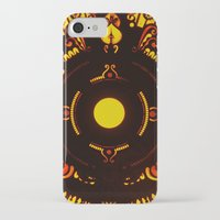 drums iPhone & iPod Cases featuring Gods Drums by Underground Artiste