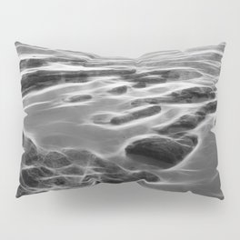 Abstract coastal rock formations in Queensland Pillow Sham