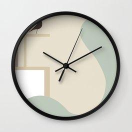 Inside 206 Wall Clock
