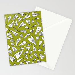 Plane paper. Stationery Cards