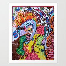singing cyclops Art Print