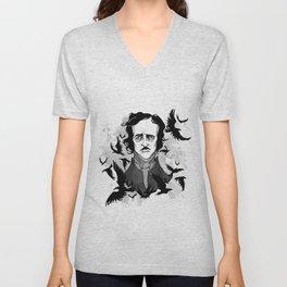 Inktober Poe Unisex V-Neck