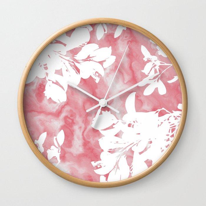 Marble Mystic Wall Clock