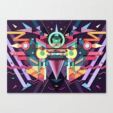 BirdMask Visuals - Falcon Canvas Print
