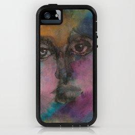 Watercolor Man iPhone Case