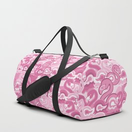 Pink Flamingos Duffle Bag