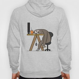 Office sloth Hoody