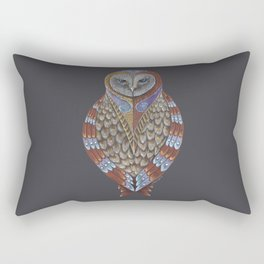 Owl Totem Rectangular Pillow