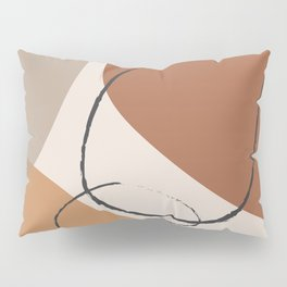 Abstract Shapes I Pillow Sham
