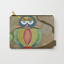 Fancy Owl Carry-All Pouch