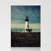 lighthouse Stationery Cards featuring Lighthouse by Yellowstone Photo Studio