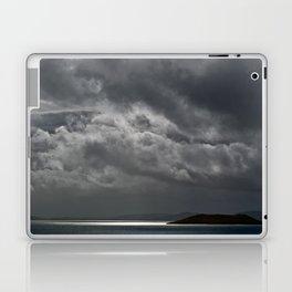 Cloudy island Laptop & iPad Skin