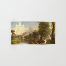 Thomas Cole The Voyage Of Life Youth 1842 Hand & Bath Towel