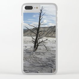 Mammoth Hot Spring  Terrace Clear iPhone Case