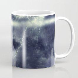 Stormy Sea and Lighthouse Coffee Mug