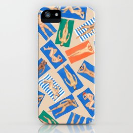 DUDE BEACH, by Frank-Joseph iPhone Case