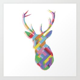 Dear, deer Art Print