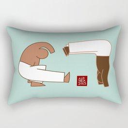 Capoeira 265 vecto Rectangular Pillow