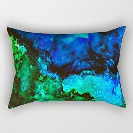 Jagged Shore Rectangular Pillow