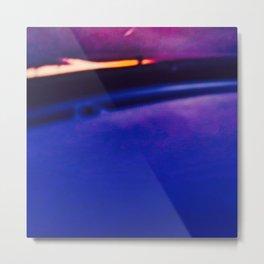 Blue Light Flame Metal Print