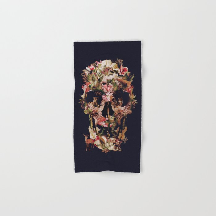 Jungle Skull Hand & Bath Towel
