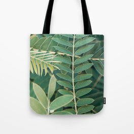 Layers Of Green #6 Tote Bag