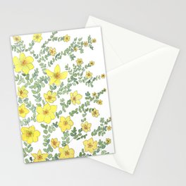 Dasiphora fructicosa Stationery Cards
