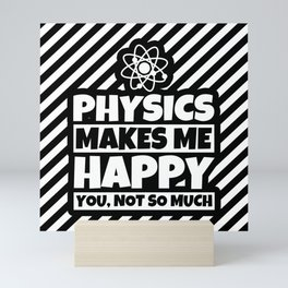Physics Gifts for Science Nerds and Physicists Humor Mini Art Print