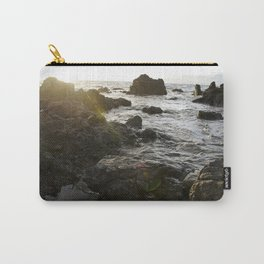 Sun Beam on the Rocks  Carry-All Pouch