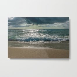 Just me and the Sea Metal Print