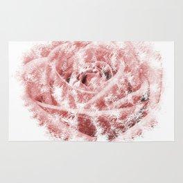 Faint Rose Rug