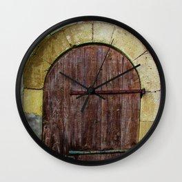 Door II Wall Clock