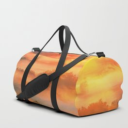 Sunset before Duffle Bag