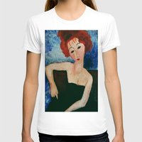 redhead T-shirts featuring Redhead by Sandra Dimitrijevic