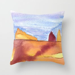 skyscapes 16 Throw Pillow