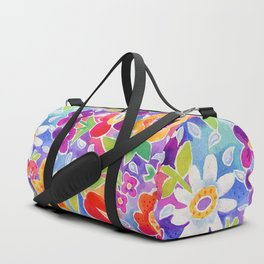 flower toss Duffle Bag