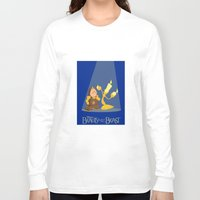 beauty and the beast Long Sleeve T-shirts featuring Beauty and the Beast by TheWonderlander