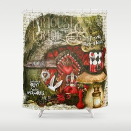 Queen of the Hearts Shower Curtain